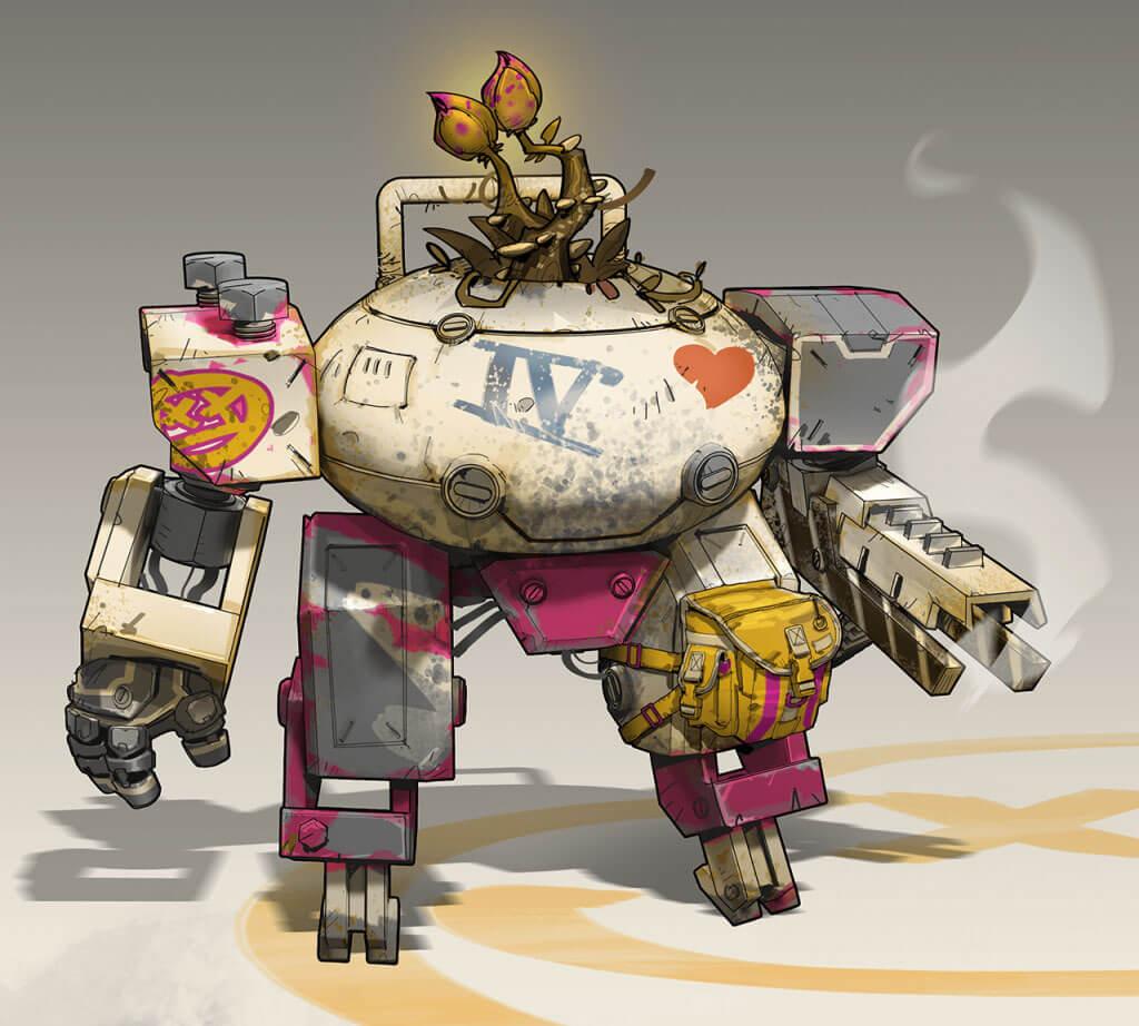Robot Flowerpot